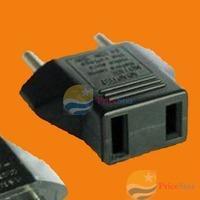 PriceStar US to EU AC Power Plug Travel Converter Adapter Worldwide free shipping