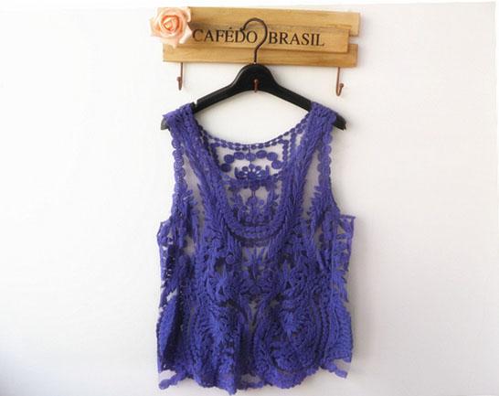 nova 2014 mulheres camisa vintage rua coreano blusa mais tops tamanho para mulheres alta qualidade marinha blusas sem mangas vintilate m-xl(China (Mainland))