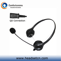 H602NPCIS NC Headset for PLT M10 M12 M22 & MX10 Vista Modular Adapters & 8961 IP