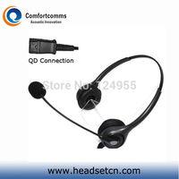 H602NPCIS NC Headset for PLT M10 M12 M22 & MX10 Vista Modular Adapters & 8961 IP