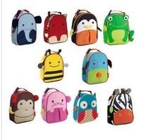 12 colors Hot Cute Cartoon Children School Bags Kids Mochila Infantil Kindergarten Mochila School Kids Canvas Children Backpacks
