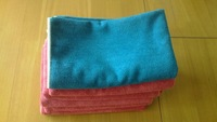 Wholesale 50X60cm 400gsm Microfiber towel floor cloth Micro Fibre Cleaning Cloth Funiture Glass Dust Rag