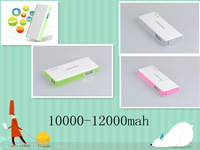 12000mah 18650 mobile battery charger