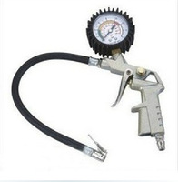 High quality ALL-Metal Car Bike Motor tire pressure gauge high precision car accessory Diagnostic tool Free shipping