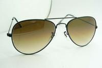 FREE SHIPPING 3026RB3025 Gradual change Gray piece Sunglasses Men's/Women's brand sunglasses