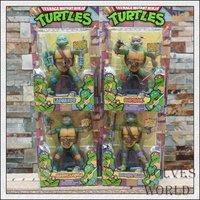 anime Teenage Mutant Ninja Turtles Leo 4pcs set pvc action figures Classic Toys for children gift