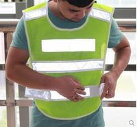 free shipping High Visibility ReflectiveJacket LED Reflective vest Traffic safety clothing Environmental Sanitation Vest