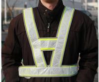 free shipping  High Visibility Reflective Safety Vest Jacket   LED Reflective vest Traffic construction using  Vest