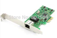 (10pcs/lot) 10/100/1000Mbps Mini PCI Express Network cards 1x RJ45 port  1000Mbps PCI-e network cards