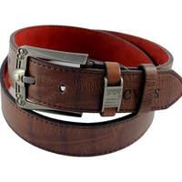 European American fashion wild hot new men's casual fashion pin buckle belt original design Leater belts men brand GLS-045