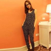 Fashion Summer Women Casual Jumpsuits.Short Sleeve black Jumpsuit.size  S,M,L,XL,XXL lady Rompers js1031