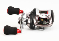 Hot!!Powerful 11 Baitcasting fishing reel  Left/Right hand  Samurai One-way lure reel spinning reel for outdoor sports abu