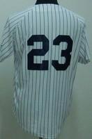 #23 Don Mattingly Jersey,Baseball Jersey,Sport Jersey,Size M--XXXL,Accept Mix Order