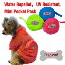 wholesale dog raincoat yellow