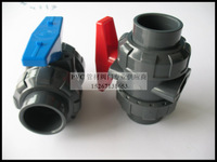 hot sale PVC turnnion ball valve 2""