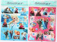 Hot wholesale 50 sheet Children's cute DIY Waterproof STICKERS TOY (Random Shipping) free shipping