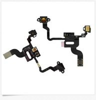 High great quality For iPhone 4 4G On / Off Power Lock Button Click Light Sensor Proximity Flex  50pcs/1lot free shipping