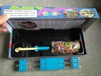 1000pcs/lot Original Loom Bands Kit 600pcs Silicone Bands Red Arrow Loom DIY bracelet Twistz Bandz Free Shipping Colorful Bands