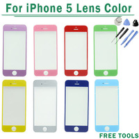 100% New for iPhone 5 Glass Lens for iPhone 5 lcd Touch Screen Replacement screen Free shipping Free Tools