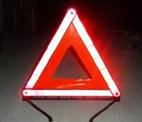 free shipping car emergency warning signs emergency folding Warning Triangles Car Reflective emergency tripod warning sign
