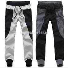 Fashion new cotton Men Women Drop Crotch Harem Pants Sports jogging Tapered Sport Hip Hop Slacks Joggers SweatPants(China (Mainland))