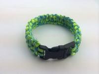 2014 Free shipping paracord bracelet new fashion 550 paracord survival stainless steel bracelet BYlifesaving bracelet