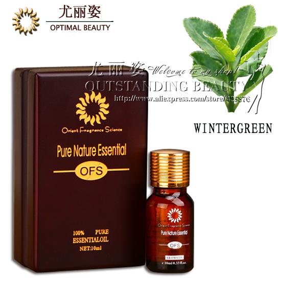 Wintergreen oil 10ml. Antiinflammatory / analgesic / itching / rheumatism / acne pimple / sterilization / hair care.D25(China (Mainland))