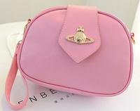 New 2014 sweet gentlewomen one shoulder women messenger bags cross-body women's handbag candy color small bag