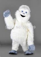 2014 Hot Sale Cute Snowman Adult Size Fancy Dress Cartoon Mascot Costume Party Mascot costume