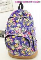Lovely Print   Women Backpack Canvas Female Backpack 4 Colors Children School Bag Casual Student Canvas School Bag BP-002