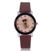 Hot sale 2014 top quality quartz watch female ladies fashion designer quartz analog roman number hours marks dropship