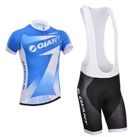 2014 Fast Shipping Nice Quality Hot Selling Giant Bicycle Jersey(Maillot)/Bib Short(Culot)/Made From High Quality Polyester