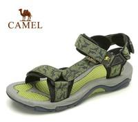 Male camel outdoor sandals summer sandals slip rubber sole casual beach sandals 82036613