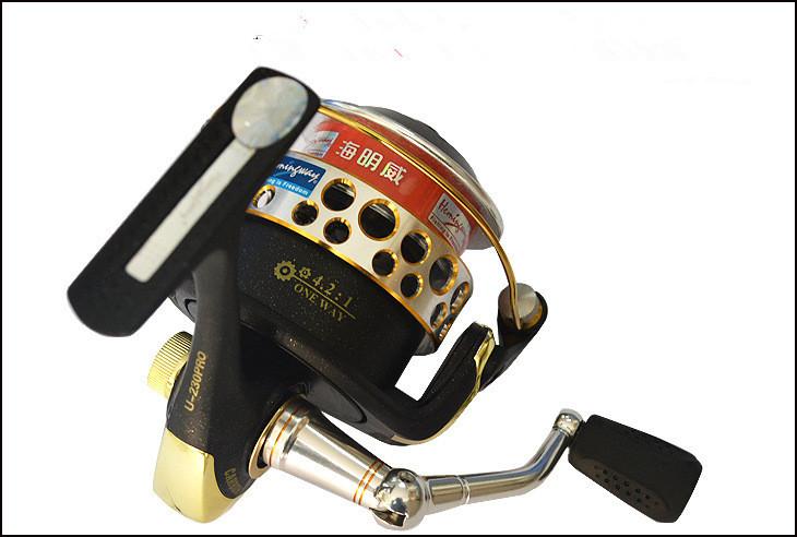 Fishing Reels U230 Super Light Carbon Lure Spinning Reel 2000 Aluminum Alloy Handle 4+1BB(China (Mainland))