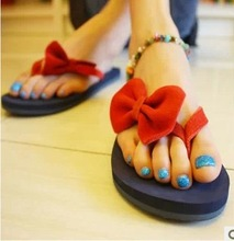 Free Shipping 2014 Multi-Color Flat Casual Slippers Shoes For Women Discount Sandals For Women Flip Flops For Lady Shoes TX1009(China (Mainland))