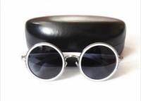 Promotion! 2014 Fashion Round Sunglasses Women Polarized UV400 Oculas de sol Feminino Steampunk Vintage Retro Prince 1402