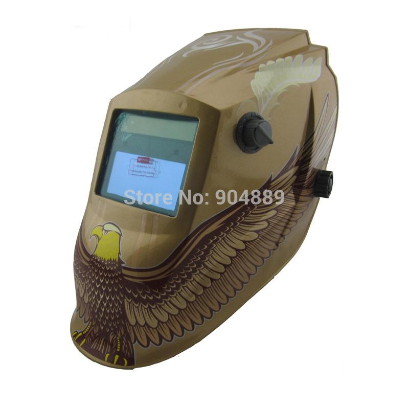 Solar li battery auto darkening MIG TIG MMA electric welder mask/helmet/welder cap for welding machine and plasma cutter(China (Mainland))