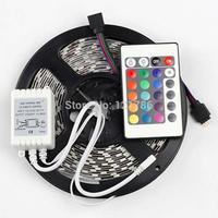5M 5050 RGB 150Leds SMD Flexible Light Strip + 24key IR Remot DC12V