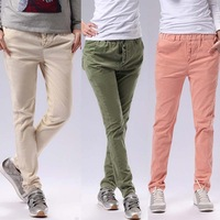 Wholesale 2014 new women's casual pants harem pants feet pants multicolor thin loose elastic waist stretch pants