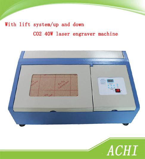 Neue Version jk-k3020/mit lift System/nach oben und unten funktion laser co2 40w cnc-laser lasergravur schneidemaschine