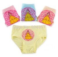 Wholesale Cotton Girls Panties Princess Baby Flower Underwear Briefs Underpants Kids Cartoon Shorts Pants Boxer