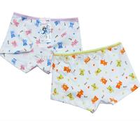 Wholesale Cotton Girls PantiesSmall Bears Underwear Briefs Underpants Kids Cartoon Shorts Pants Boxer
