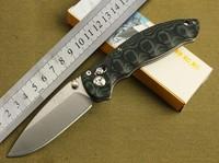 Enlan Bee EL04 MCT Pocket EDC Tactical Folding Knife 8Cr13MoV Blade Black Waved Micarta Handle Camping FREE SHIPING