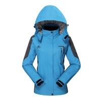 2014 camel Spring Autumn Outdoor Jackets for Women slim Sportswear Hoodie Jacket waterproof windproof outwear Sport Coat casual