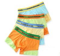 Wholesale Modal Solid Mixed Colors Panties  Kids Underwear  Briefs Underpants  Shorts Pants Boxer