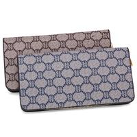 Unisex Men&Womens letter print long design wallets new collection 2014 female purse bag free shipping women wallet purses clutch