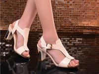 2014 New Summer Corium  Party with Elegant ladies  women sandals Fashion shoes  DunHu6662