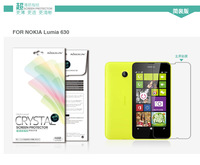 Original Nillkin CRYSTAL High Clear LCD Screen Protector Film Protective Guard for Nokia Lumia 630 + Retail Box Free shipping