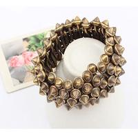 Accessories fashion rivet punk personalized bracelet lovers design bracelet
