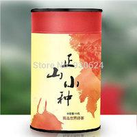 2014New Top Grade Zhengshan xiaozhong Black Tea from Professional Tea Planter Direct 50g/1.76oz Paper can Gift Box